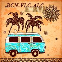 Barcelona-Valencia-Alicante
